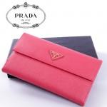 PRADA- 1M1132-37 新款女包牛皮手拿包長款錢夾