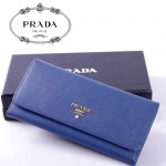 PRADA- 1M1132-36 新款女包牛皮手拿包長款錢夾