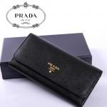 PRADA-1M1349  最新款全皮女錢包 女包牛皮長款皮夾/錢包