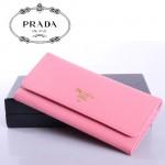 PRADA- 1M1335  新款證件相片包女士女包 原版十字紋牛皮 錢夾