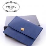 PRADA- 1M1355-2   短款零錢包 卡包 卡片包 卡套