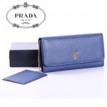 PRADA- 1m1349-2  最新款全皮女錢包 女包牛皮長款皮夾/錢包