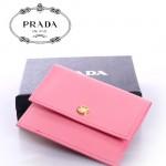 PRADA- 1M1355  短款零錢包 卡包 卡片包 卡套