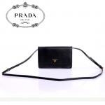 PRADA- 1M1361   新款牛皮帶鏡子長肩帶小包