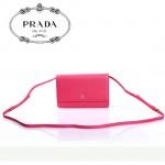 PRADA- 1M1361-1 新款牛皮帶鏡子長肩帶小包