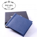 PRADA- 2M1077-4  女款壓紋牛皮卡片夾