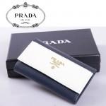 PRADA- KP5052A-2  進口十字紋牛皮 奢華休閑 男女士鎖匙包