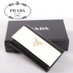 PRADA- KP5052A-1  進口十字紋牛皮 奢華休閑 男女士鎖匙包