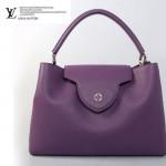 秋冬新品LV M48871-1 手提女包 時尚潮流爆賣款紫色