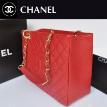 chanel 女包原版皮CHGST系列購物包 金鏈 A36092