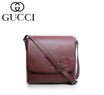 GUCCI|古馳 最新款時尚英倫韓版 單肩斜跨包 男 款322056