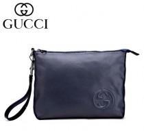 GUCCI|古馳專櫃新款322054真皮護照包手抓包女士手拿包男式手腕包零錢包