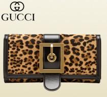 GUCCI古馳專櫃新款特價尖貨323654歐美城市生活豹紋真皮休閑手拿包晚宴女包