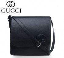 GUCCI|古馳 最新款時尚英倫韓版 單肩斜跨包 男 款322056-1