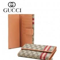 Gucci 春夏最新款女用 PVC 長夾