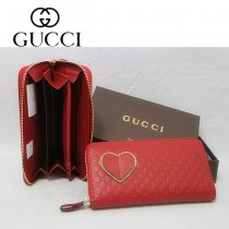 Gucci 雙G紋拉鏈長款女士錢夾 282539