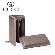 Gucci  PVC 料長款錢夾 212110-5