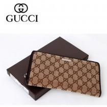 Gucci 時尚帆布女錢夾 306712