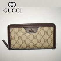 Gucci 新款男士商務長款錢夾 322147-2