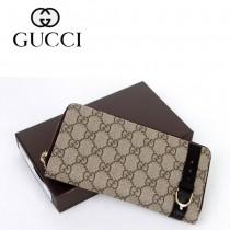 Gucci 歐洲潮流 中性長款錢夾 309758-1