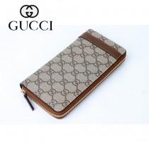 Gucci 歐洲潮流 中性長款錢夾 309758-2