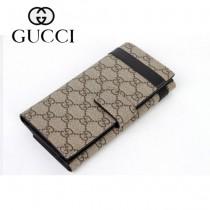 Gucci 經典雙G標誌 男長款錢夾 309754