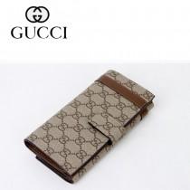 Gucci 經典雙G標誌 男長款錢夾 309754-1