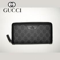 Gucci 新款男士商務長款錢夾 322147