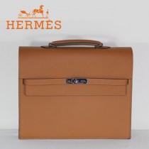 愛馬仕Hermes新款土黃色手提包509018-3