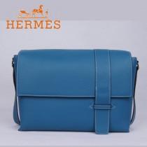 愛馬仕Hermes時尚潮流新款單肩包中藍色1088-4