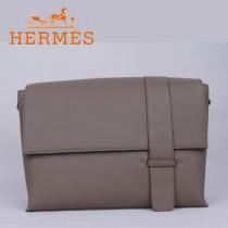 愛馬仕Hermes時尚潮流新款單肩包深灰色1088-3