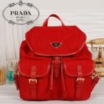 PRADA 0030-1 新款時尚普拉達女包 雙肩背包 尼龍旅行包休閑書包