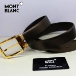 新款萬寶龍真皮皮帶時尚腰帶Montblanc-0007