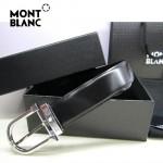 新款萬寶龍真皮皮帶時尚腰帶Montblanc-0005
