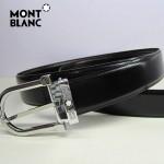 新款萬寶龍真皮皮帶時尚腰帶Montblanc-0014