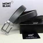 新款萬寶龍真皮皮帶時尚腰帶Montblanc-0002