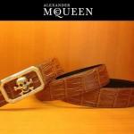 麥昆新款皮帶McQueen-002腰帶骷髏頭
