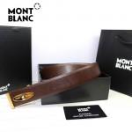 新款萬寶龍真皮皮帶時尚腰帶Montblanc-0003