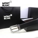 新款萬寶龍真皮皮帶時尚腰帶Montblanc-0004