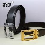 新款萬寶龍真皮皮帶時尚腰帶Montblanc-0013