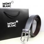 新款萬寶龍真皮皮帶時尚腰帶Montblanc-0012