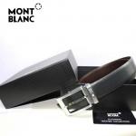 新款萬寶龍真皮皮帶時尚腰帶Montblanc-0010