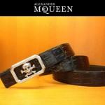 麥昆新款皮帶McQueen-004腰帶骷髏頭