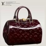 LV M90057 新款時尚女包 logo印花漆皮小手袋手提包