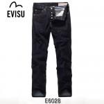 EVISU E6028-01 新款韓版潮男直筒彩色大M陳冠希同款牛仔褲