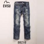 EVISU B9216 新款陳冠希同款潮男必備直筒牛仔褲