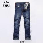 EVISU E201-01  韓版街頭嘻哈陳冠希同款直筒牛仔褲