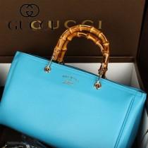 GUCCI 323660-6 歐美時尚新款牛皮竹節單肩斜挎包手提包