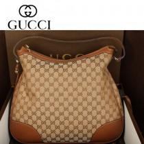 GUCCI 336754-1 新款女士帆布單肩手提女包購物袋