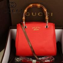 GUCCI 336032 新款女包時尚單肩斜跨包 磁扣手提竹節包女包